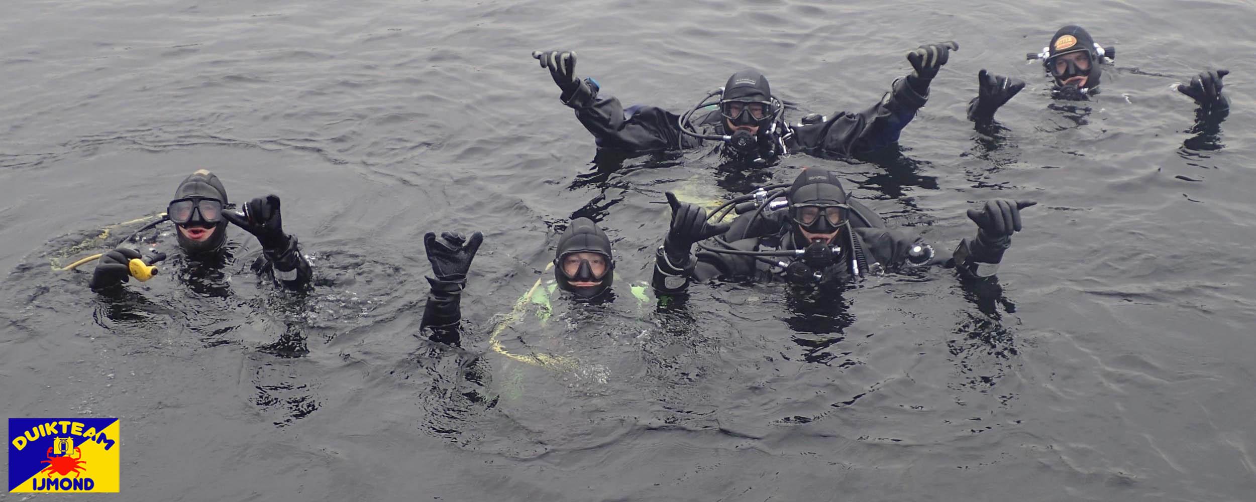 duiken bij duikteam ijmond