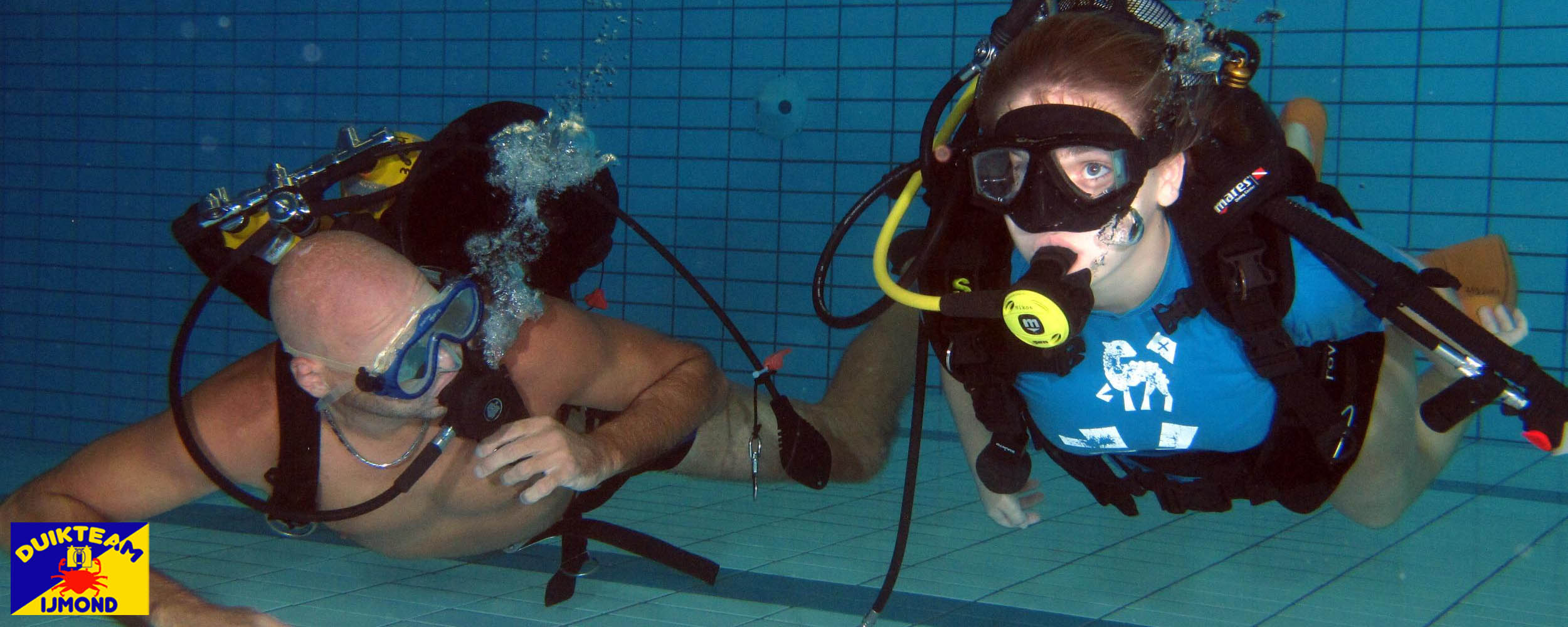 duikopleiding bij duikteam ijmond