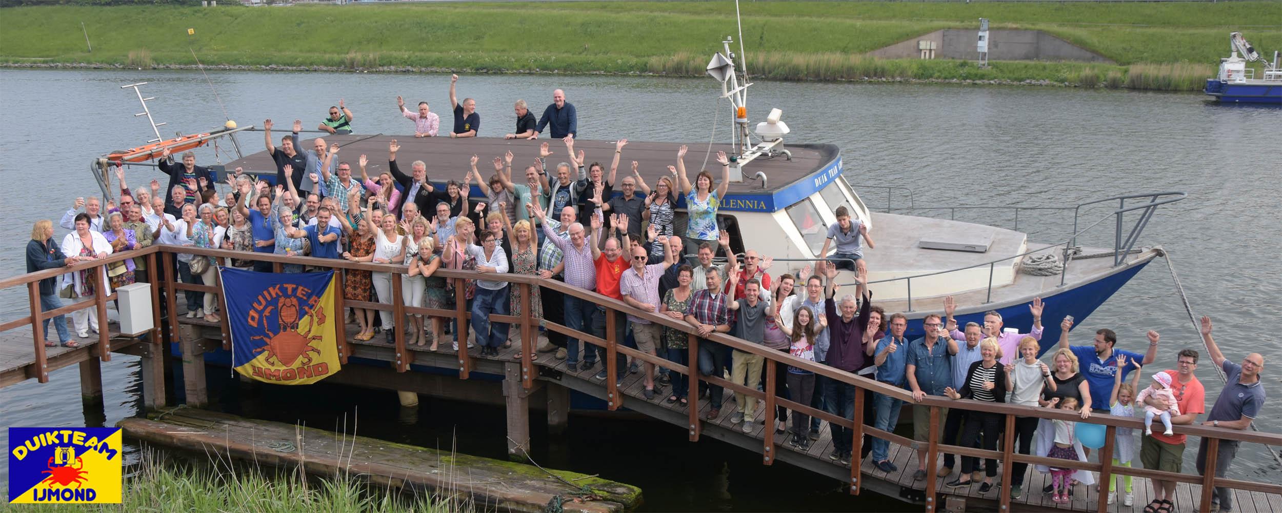 Duikteam IJmond met eigen boot en clubhuis