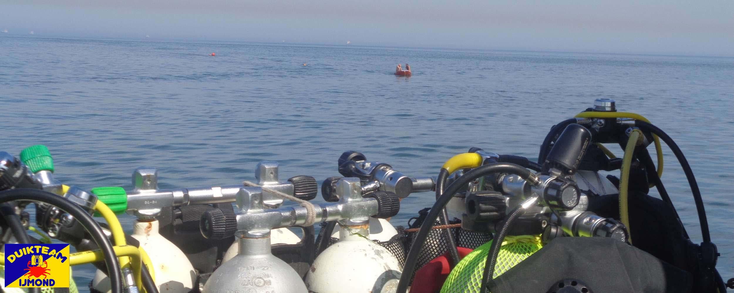 Wachten op de kentering op de noordzee