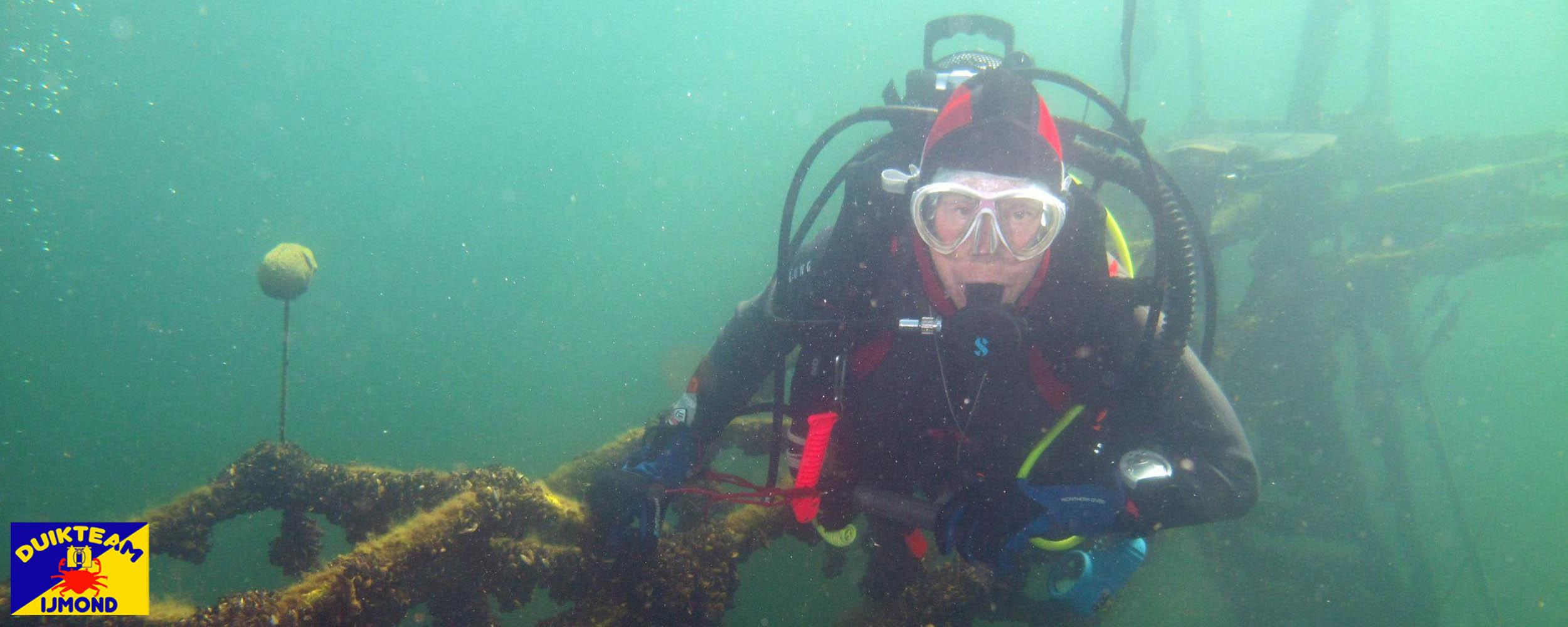 duikteam ijmond duiken in de mooie wateren van nederland